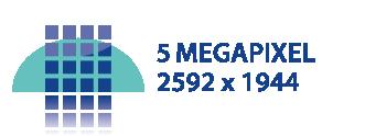 5-megapixel